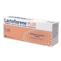Lactoflorene Plus 7 Flaconcini Integratore Fermenti Lattici