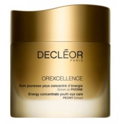 Decleor Orexcellence Soin jeunesse Yeux Concentré d'énergie 15 ml Crema contorno anti-rughe energizzante