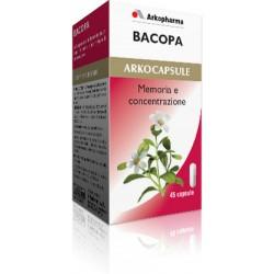 Arkopharma Bacopa 45 Arkocapsule Integratore Alimentare per le Funzioni Cognitive