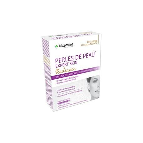 Arkopharma Expert Skin Perles de Peau Radiance 10 flaconcini Integratore di Collagene