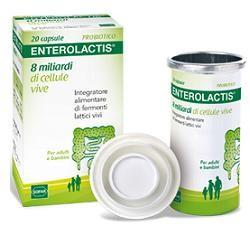 Enterolactis Fermenti Lattici 20 capsule