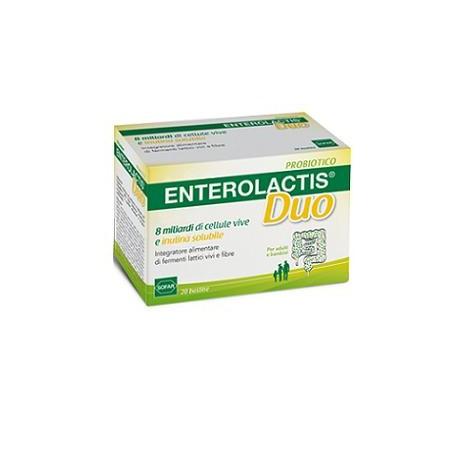 Enterolactis Duo Fermenti Lattici e Fibre 20 Bustine