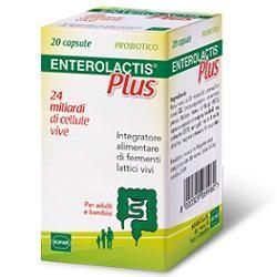 Enterolactis Plus 24 miliardi di Fermenti Lattici 20 capsule
