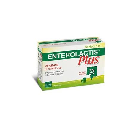 Enterolactisd Plus 24 miliardi di fermenti Lattici 10 bustine