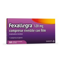 FEXALLEGRA*10 cpr riv 120 mg