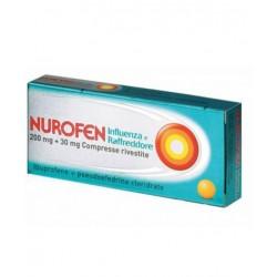NUROFEN INFLUENZA E RAFFREDDORE*24 cpr riv 200 mg + 30 mg