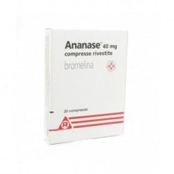 ANANASE*20 cpr riv 40 mg