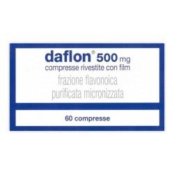 Daflon 60 Compresse Rivestite 500 mg Venotonico Vasoprotettore