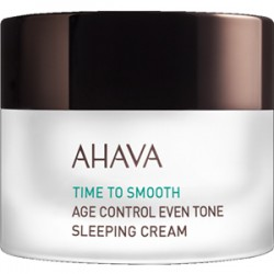 AHAVA AGE CONTROL EVEN TONE SLEEPING CREAM 50 ML
