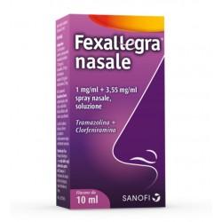 Fexallegra Spray Nasale 1mg/ml+3,55mg/ml Soluzione Tramazolina+Clorfeniramina