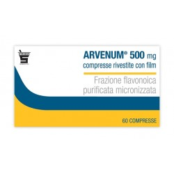Arvenum 60 Compresse Rivestite 500 mg Vasotonico Vasoprotettore