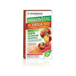 Arkopharma Acerola 1000 Integratore Alimentare per le Difese Immunitarie 30 cpr
