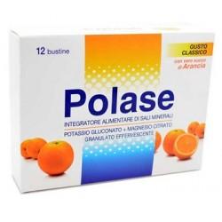 Polase Arancia 12 Bustine Integratore Alimentare di Sali Minerali Magnesio e Potassio