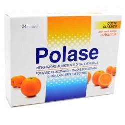 Polase Arancia 24 Bustine Integratore Alimentare di Sali Minerali Magnesio e Potassio