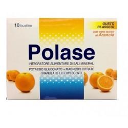 Polase Arancia 36 Bustine Integratore Alimentare Sali Minerali Magnesio e Potassio