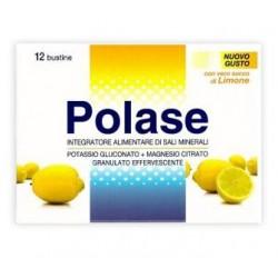 Polase 12 Bustine Integratore Alimentare Magnesio Potassio Gusto Limone