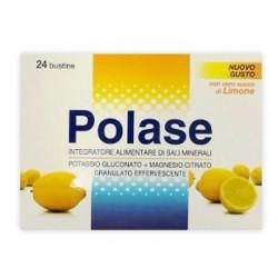 Polase 24 Bustine Integratore Alimentare Magnesio Potassio Gusto Limone