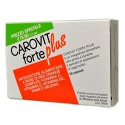 Carovit Forte Plus Integratore per Abbronzatura 30 capsule