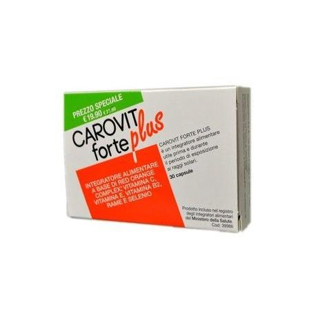 Carovit Forte Plus Integratore Alimentare 30cps