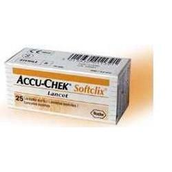 Roche Diabetes Care Italy Lancette Pungidito Accu-chek Softclix 25 Pezzi