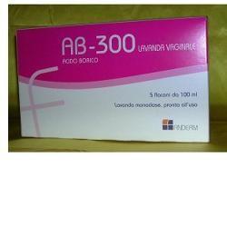 Farmitalia Ab 300 Lavanda Vaginale 5 Flaconi 140 Ml