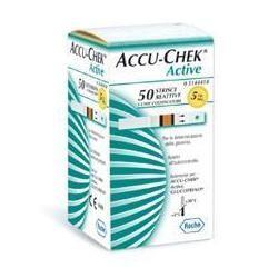 Roche Diabetes Care Italy Strisce Misurazione Glicemia Accu-chek Active Mic Retail 50 Pezzi