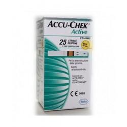 Roche Diabetes Care Italy Strisce Misurazione Glicemia Accu-chek Active Strips 25 Pezzi Inf Retail