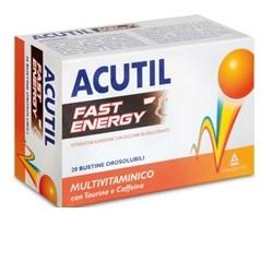 Angelini Acutil Multivit Fast Energy 20bustine Orosolubili 40g