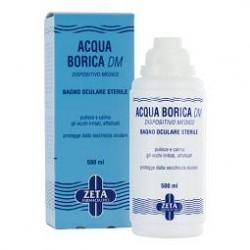 Zeta Farmaceutici Acqua Borica Per Bagno Oculare Sterile 500 Ml