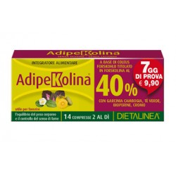 Gdp -general Dietet. Pharma Adipekolina 7 Days 14 Compresse Dietalinea