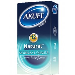 Nova Argentia Profilattico Ansell Akuel By Manix Natural 6 Pezzi