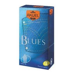 Nova Argentia Profilattico Ansell Akuel Manix Blues 12 Pezzi