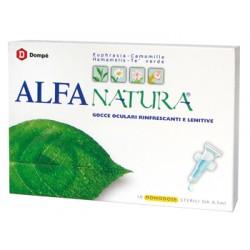 Dompe' Farmaceutici Alfa Natura Gocce Oculari 10 Flaconcini Monodose 0,5 Ml