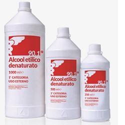 Nova Argentia Alcool Etilico Denaturato 90,1% 250 Ml