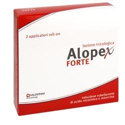 Valderma Lozione Rubefavente Alopex Forte 2rollon 20ml