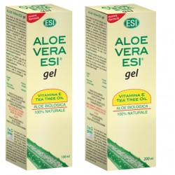 Aloe Vera Esi Gel Vitamina E Tea Tree 200 Ml