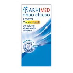 Narhimed Naso Chiuso Adulti Gocce Rinologiche 10 ml 1 mg/ml