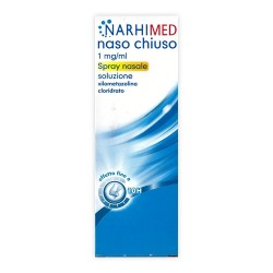 Narhimed Naso Chiuso Adulti Spray Nasale 10 ml 0,5 mg/ml + 0,6 mg/ml