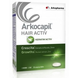 Arkofarm Arkocapil Hair Activ 3 Pezzi X 30 Compresse