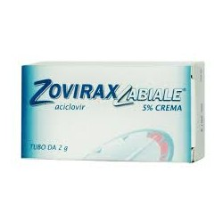 Zovirax Labiale Crema Dermatologica 2 g 5%