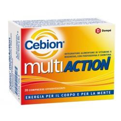 Dompe' Farmaceutici Cebion Multiaction 20 Compresse Effervescenti