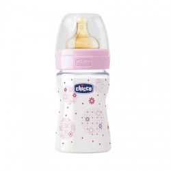 Chicco Biberon 150 Ml Polipropilene Caucciu' 1 Foro Girl