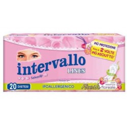 PROTEGGISLIP INTERVALLO FRESH DISTESO 20 PEZZI