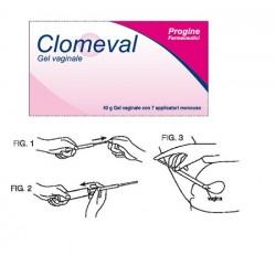 Uriach Italy Clomeval Gel Vaginale Tubo + 7 Applicatori