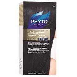 Phyto Phytocolor 1 Nero Intenso Colorazione capelli lunga durata