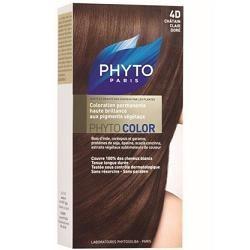 Phyto Phytocolor 4D Castano Chiaro Dorato Colorazione capelli lunga durata