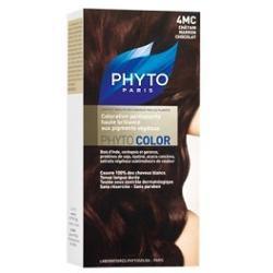Phyto Phytocolor 4MC Castano Marrone Cioccolato Colorazione capelli lunga durata