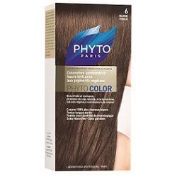 Phyto Phytocolor 6 Biondo Scuro Colorazione capelli lunga durata