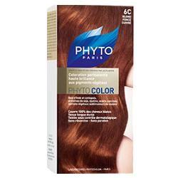 Phyto Phytocolor 6C Biondo Scuro Ramato Colorazione capelli lunga durata