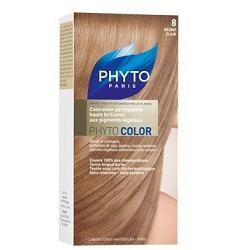 Phyto Phytocolor 8 Biondo Chiaro Colorazione capelli lunga durata